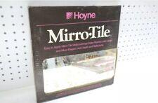 NOS New Vintage 1970s Hoyne Mosaic Gold MirroredGlas-Tile Hoyne 6 - 12x12 Tiles