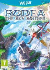 Rodea The Sky Soldier & Bonus Game Inside! Nintendo Wii U * NEW SEALED PAL *