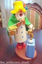 "Seiffen made in Germany smoker ""Zirkus"", Musical Box, plays ""Happy Birthday"""
