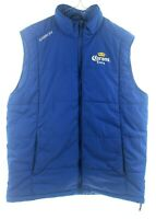 Mens Karbon Vest Ski Snow with Corona Extra Beer Logo Size Large
