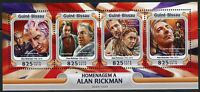 GUINEA BISSAU 2016 TRIBUTE TO ALAN RICKMAN  SHEET MINT NEVER HINGED