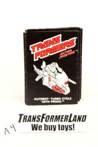Prowl Instructions Action Masters 1990 Vintage Hasbro G1 Transformers