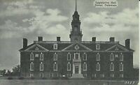 Dover Kent County Delaware Legislative Hall 1930s Postcard