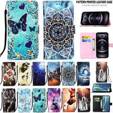 For iPhone 13 12 11 Pro/Max/Mini XR XS SE 8 Plus Case Leather Wallet Flip Cover
