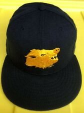Vintage 90s Peoria Javelinas New Era Pro Model 100% Wool Hat Cap USA Made