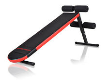 MARBO SPORT Sit up Bank Trainingsbank Hantelbank Bauchtrainer Schrägbank MH-L101