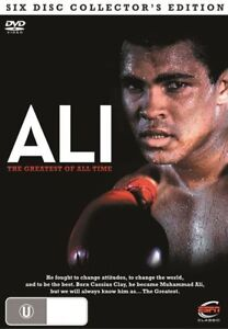 Ali - The Greatest of All Time (DVD, 2011, 5-Disc Set)  BRAND NEW SEALED R4 DVD