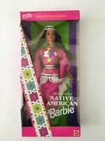 NRFB Mattel Native American Barbie Third Edition Dolls Of The World NIB