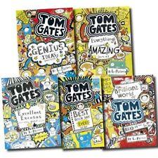 Tom Gates Collection Liz Pichon 5 Books Set Pack (The Brilliant World of Tom Gat