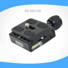 QR-50 placa de adaptador de Abrazadera cuadrado con inclinación para Trípode Rótula Arca Swiss