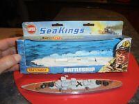 Matchbox SeaKing Battleship K-303 Navire de Guerre et sa Boite