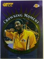 2002 02 Topps TCC Crowning Moment Kobe Bryant #CM5, Los Angeles Lakers