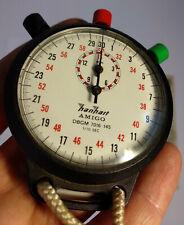 Hanhart Amigo stopwatch 1/10 sec DBGM 7016 145 great working condition