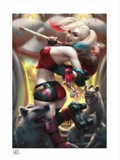 Harley Quinn: Hell on Wheels! Art Print by Sideshow Collectibles New