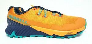 NEW- Merrell Agility Peak Flex 3 Exuberance Orange Hiking Shoe's Size 10 D