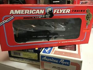 American Flyer By Lionel S Gauge Flat Car with Derrick 6-49009 nos train,3/16