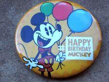 Disneyland Nov. 18, 2016 88th Anniversary Happy Birthday MickeyCollector Button