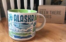 "New Starbucks ""BEEN THERE SERIES""  Coffee Tea Mug ALASKA 2018 14fl oz"