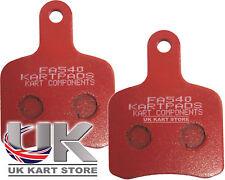 EBC Tony Kart / Motif Otk plaquettes de frein rouge fa540 dur de qualité supérieure post rapide