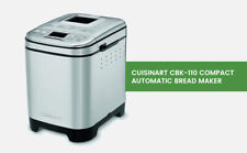 Cuisinart Bread Maker Cbk-110, Up To 2lb Loaf, New Compact Automatic