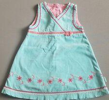 Pumpkin Patch Infant Girl's Corduroy Dress Size 6-12mths Blue Pink Winter 2008