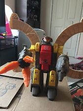 transformers g1 omega supreme (1985) auto defense base Complete Electronics Work