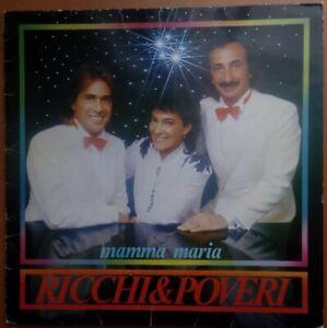 LP 33 Ricchi e Poveri - Mamma Maria 1982 (50)