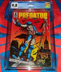 Predator #1 CGC 9.8  🔥🔥 1st Appearance of Predator 1989 🔥🔥