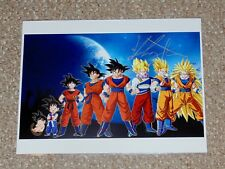 Kirby Morrow Dragon Ball Goku 8.5x11 Signed Photo Hal-Con 2015