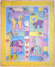 New Applique Crib Quilt Pattern SAFARI 38X48