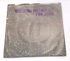 Yoko Ono Walking On Thin Ice '81 Geffen 49683 Lennon Beatles 45 RPM PS Insert NM