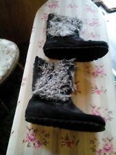 Fishbone Stiefel mit Zottelhaar Gr. 41schwarz