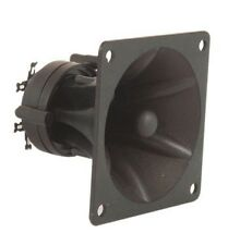 2 unités/paire piezo horn tweeters 85 x 85 x 70mm high impedence power max 150W