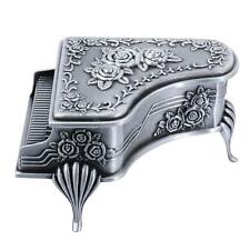 Vintage 1960's Girl Piano Jewellery Gift Music Storage Box Romantic Gift