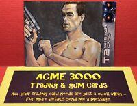 Unstoppable - Terminator 2 T2 - B JONES - Sketch Card - ARNOLD T-800 - B