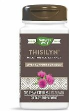 Thisilyn Milk Thistle Extract, Nature's Way, 100 capsule