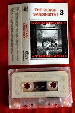 CLASH SANDINISTA! PUNK 1989 UNIQUE EXYU CASSETTE TAPE