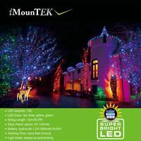 100LED Solar Christmas Tree Fairy String Light Party Decoration Waterproof Lamp