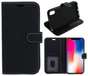 For iPhone 6 Plus 6S Plus 7 Plus 8 Plus Case Cover Flip Wallet Folio Leather Gel