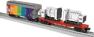 LIONEL 11174 MAPLE LEAF FREIGHT ADD-ON 2 P