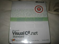 Microsoft Visual C# .NET Standard Esition 2003 1 User NEW SEALED