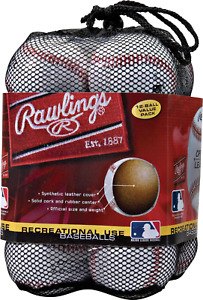 Rawlings Official League Recreational Grade Baseballs, OLB3 Assorted Styles