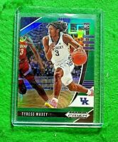 TYRESE MAXEY GREEN PRIZM ROOKIE CARD KENTUCKY RC 76ERS 2020 PANINI PRIZM DP RC