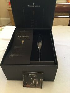 WATERFORD ELEGANCE COLLECTION CHAMPAGNE CLASSIC FLUTE NEW IN BOX