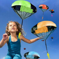 Kind Spielzeug Hand werfen Fallschirm Spiel im Freien Spiel Spielzeug Deko X8B9