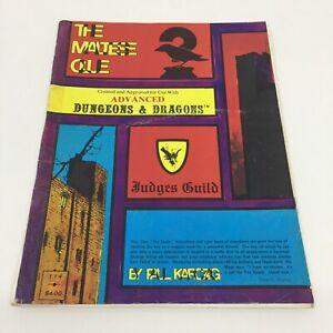 ADVANCED DUNGEONS & DRAGONS D&D JUDGES GUILD THE MALTESE CLUE RPG (1979)
