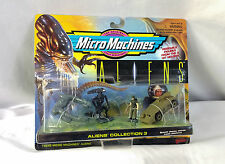 Micro Machines Aliens Movie Collection 3 Sealed Queen Hicks Derelict Ship Carrie