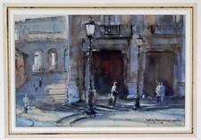 ROY HAMMOND (b.1934) Watercolour Painting CAMPIDOGLIO ROME ITALY 1991