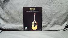 Martin Guitars *Dwight Yoakam* DD28 Promo Brochure