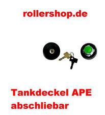 Tankdeckel abschließbar Piaggio APE  MP, P501 , P601, Diesel